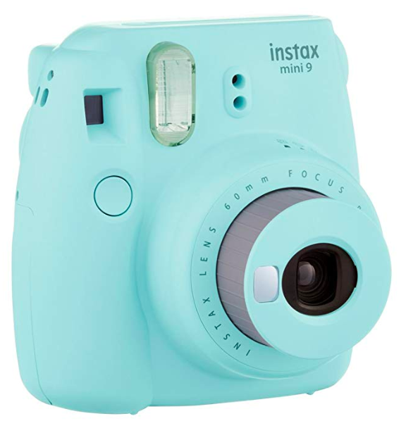 an instant camera is one of the many useful yet unique wedding gifts to add to your registry