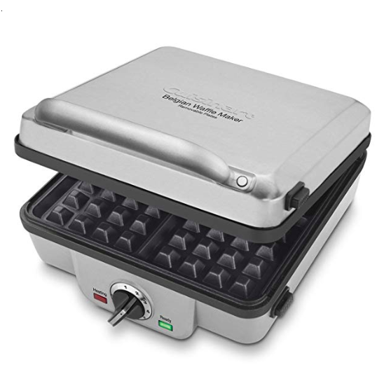 A Belgian waffle maker is one of the many unique wedding gifts to add to your registry