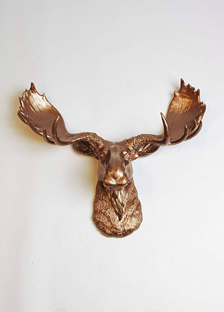one of the most unique wedding gifts to add to your registry is faux taxidermy